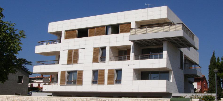 Istarska - Rovinj, vođenje stručnog nadzora na stambenom objektu u Istarskoj ulici u Rovinju za Abiliju d.o.o.