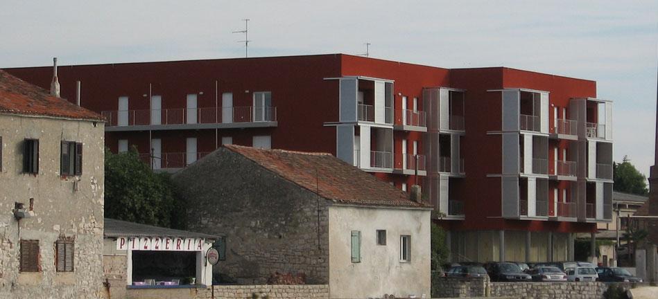 Elegant (Riva) - Umag   Projektiranje poslovne - stambene građevine površine cca. 5000 m2 u Umagu – projekt Riva (Elegant) za poduzeće IMG d.o.o. Poreč.