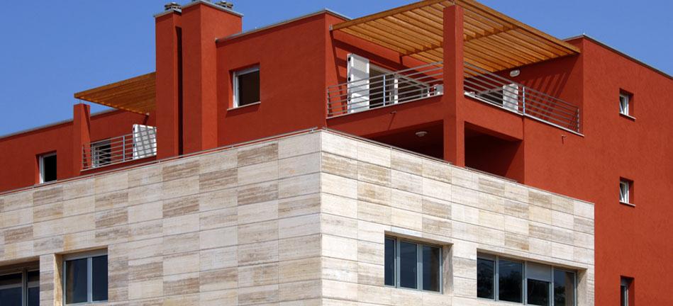 Centar V u Poreču - Izrada kompletne projektne   dokumentacije i vođenje stručnog nadzora za poslovno - stambenu   građevinu od 4500 m2  Projekt Centar V za poduzeće IMG d.o.o. Poreč